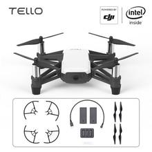 DJI Tello Drone Ryze Mini Giocattolo Drone DJI Fotocamera Drone con Codifica di Istruzione 720P HD Trasmissione Quadcopter FPV Remote di controllo