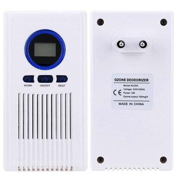 цена на Home Ozone Generator 110V 220V Air Purifier Portable Air Ozone Disinfector for Vegetables Sterilization Home Car