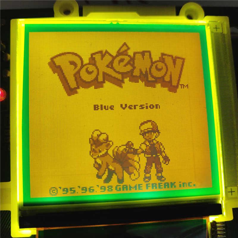 Película polarizadora con retroiluminación DIY, blanca, amarilla, roja, azul, Rosa, Verde para GameBoy Classic DMG-01 y consola GBP