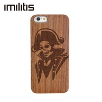 Custom Cover For IPhone 5 5s Natural Wooden Case Bamboo Customized For IPhone 5s Carving
