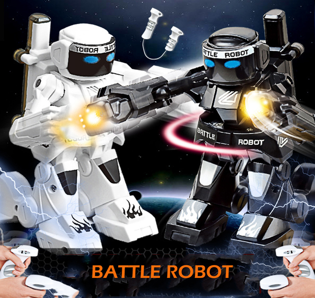 RC Battle Robot Remote Control RC Fighting Robot Boxing Robot Toys For Children RC Intelligent 2.4g Parent-Child Fighting