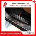 Нержавеющая стель защита автомобиля Модифицированная специальная защита двери педали порога Накладка для Korando 2011-2016