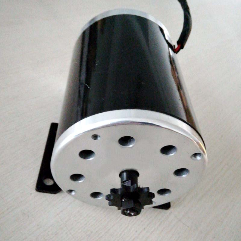 MY1020 500W 24V 36V 48V UNITEMOTOR High Speed Brush DC Motor Electric Bicycle Motor e Scooter