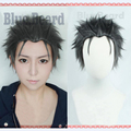 New Arrival Anime Re: Life in a Different World from Zero Subaru Natsuki Styled Wig Short Black Grey Mixed Cosplay Wig + Cap