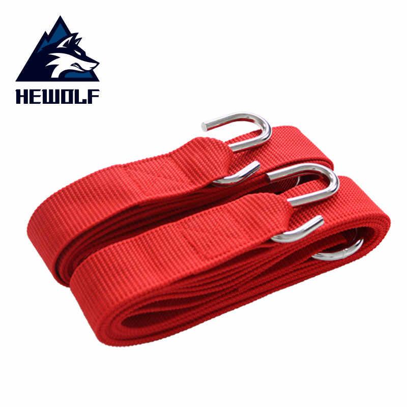 Hewolf Кемпинг гамак бандаж складной гамак для кемпинга Аварийные приспособления специальный нейлоновый Высококачественный портативный бандаж