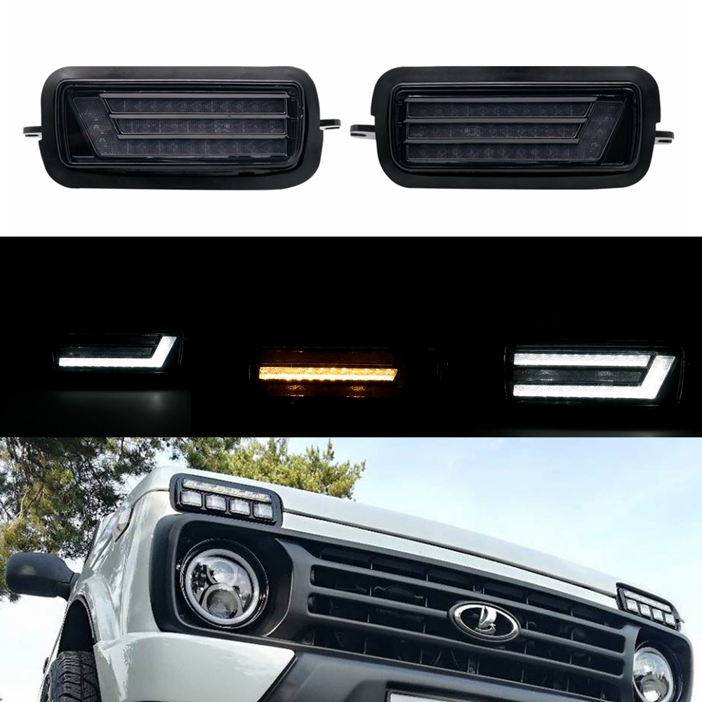 7 inch headlight and DRL for lada 4x4 car LED 1.j7pg.4ggjpg
