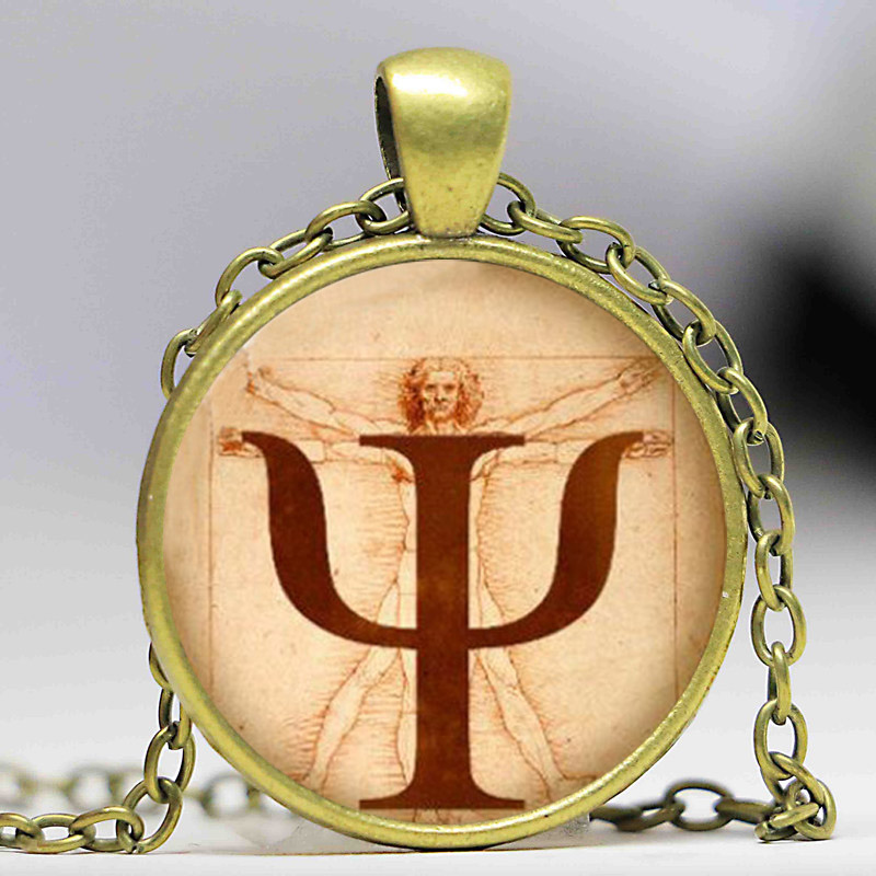 Wiccan coexist necklace love wicca jewelry glass dome pendant us 284 psi symbol necklace psychology pendant jewelry g aloadofball Gallery