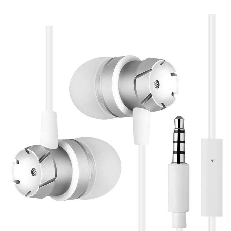 Kapcice H04 Suono Dei Bassi Auricolare In Ear Sport Auricolari con il mic per xiaomi iPhone Samsung Auricolare fone de ouvido cuffie MP3 - 6