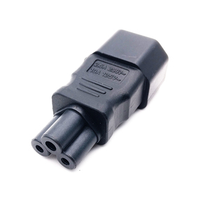 Image 4 - Профессиональный адаптер PDU IEC 320 C14 к C5, адаптер C5 к C14 AC, кабели питания C13 заменяются на кабель питания C5