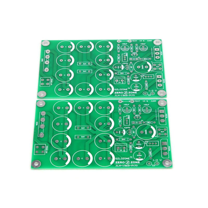 Atom P series (BR) version - JLH1969 single-ended class A rear stage power amplifier PCB (two channels)