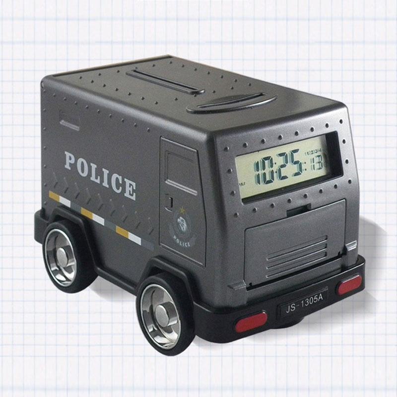 Piggy Bank Momey Box Password Money Boxes Alarm Clock Children\'s ...