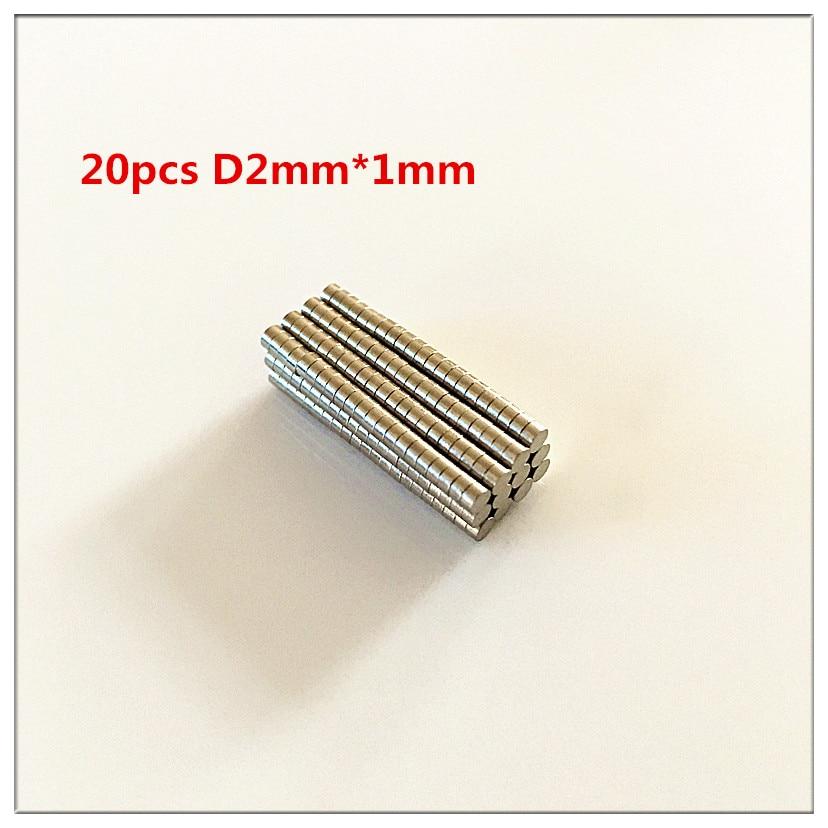 20pcs Bulk Small Round Neodymium Fridge Craft Magnets Dia 2mm x 1mm N35 Super Strong NdFeB Warhammer Free shipping greeting word style fridge magnets 4 pack