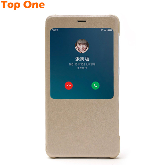 new concept 95e62 d26b7 US $59.99 |Original xiaomi redmi note 4 flip case , protective flip cover  for redmi note4 , luxury design by xiaomi on Aliexpress.com | Alibaba Group