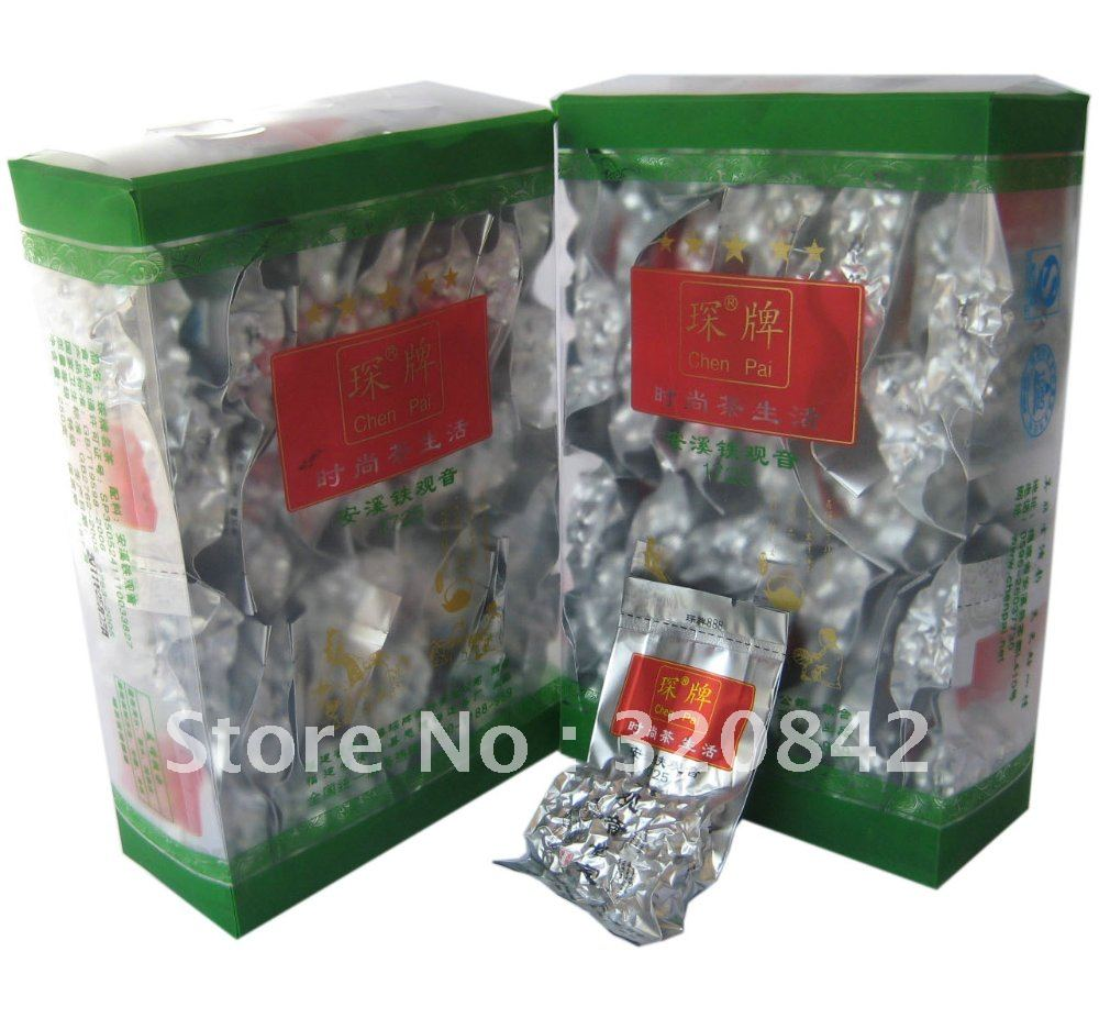 64PCS 500g Chinese Tieguanyin tea tie guan yin China Oolong tea oolong Premium green food font