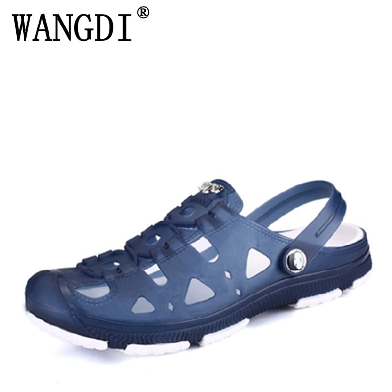 Ed Beauty Fashion Summer Men slippers Breathable beach sandals male shoes Hollow out of the drag men shoes sandals for summer