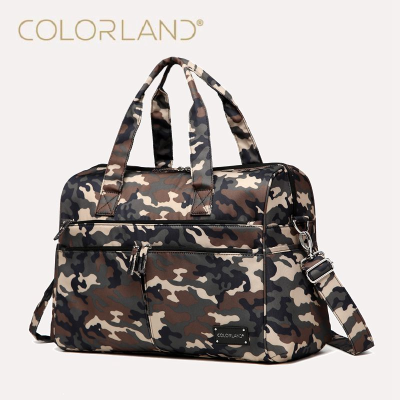 ФОТО Colorland Diaper Bag Organizer Large Baby Bag For Mom Messenger Nappy Bags Baby Diaper Handbag Mother Handbag Maternity Bags