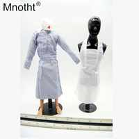 Mnotht 1/6 Soldier Allied Ambulance Female Nurse Skirt Woman Doctor Apron Dress Toys For 12'' Soldier Action Figure Collection