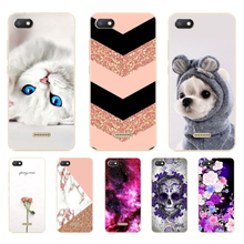 Xiaomi Redmi 6A Case 6 Cover Soft Silicone Back TPU Patterned For A A6 Phone Cases