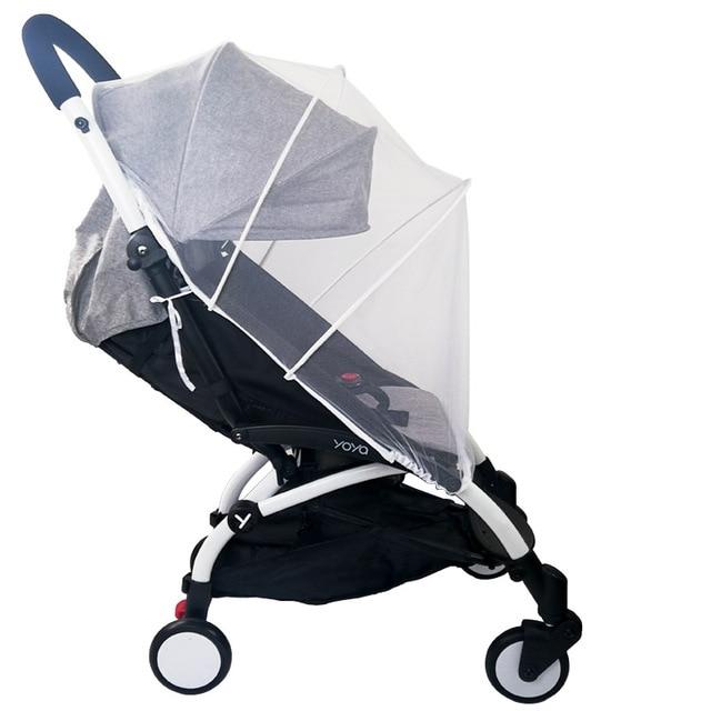 Baby Winkelwagen Klamboe Insect Shield Zuigelingen Bescherming Mesh Kinderwagen Accessoires Voor 90% Kinderwagen Kinderwagen Klamboe 1