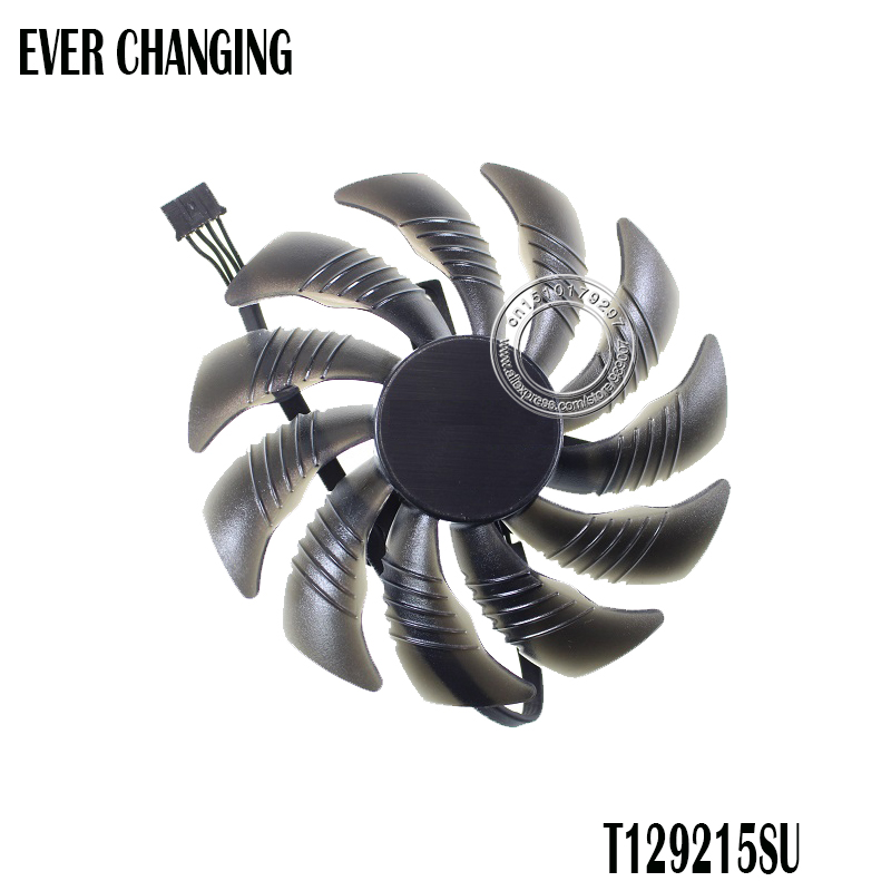 T129215SU 88MM PLD09210S12HH Fan Replace For Gigabyte Geforce GTX 1080 GTX1070 1060 1050 Ti fan Mini ITX G1 Radeon Gaming Fan image
