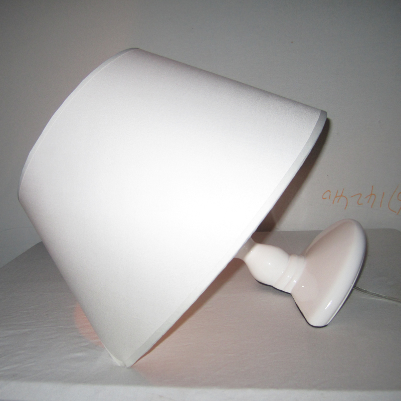 Современные смолы Титаник настольная лампа hotel luminaria-де-меса Ткань абажур Спальня настольная лампа E27 глава кровать Lampara Меса 110 220 В