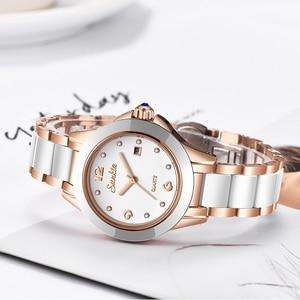 Image 2 - SUNKTA 2019 Top Luxury Brand Womens Rose Gold Watches Ladies Ultra thin Clock Fashion Boutique Girl Watch Senhoras Assistir