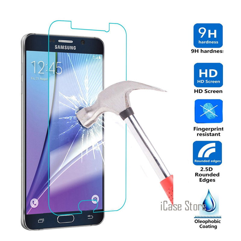 Tempered Glass For <font><b>Samsung</b></font> Galaxy <font><b>A3</b></font> A5 A7 <font><b>2016</b></font> S6 S7 S5 S4 S3 J1 mini J2 J3 J5 J7 <font><b>2016</b></font> Core 2 Xcover 3 Screen Protector image
