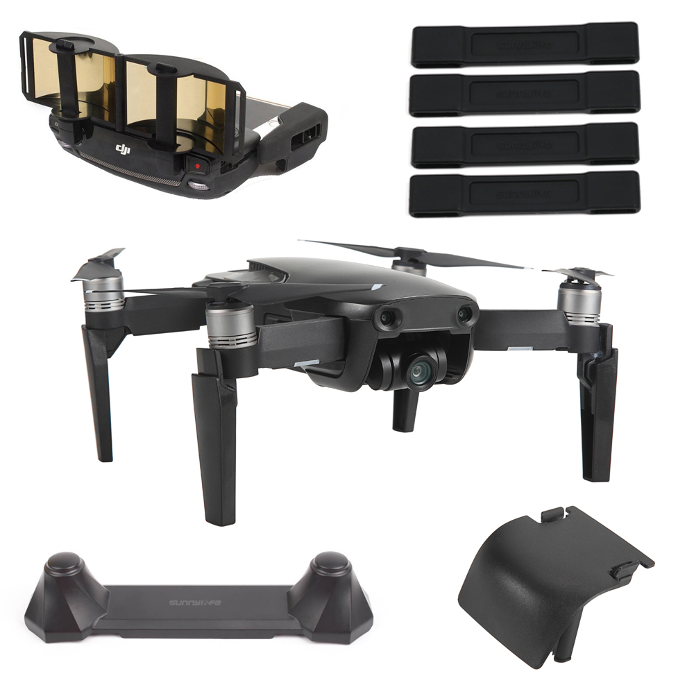 5in1 DJI Mavic Air Accessories Lens Case Remote Control Signal Booster Joystick Landing Gear Propeller Stabilizer