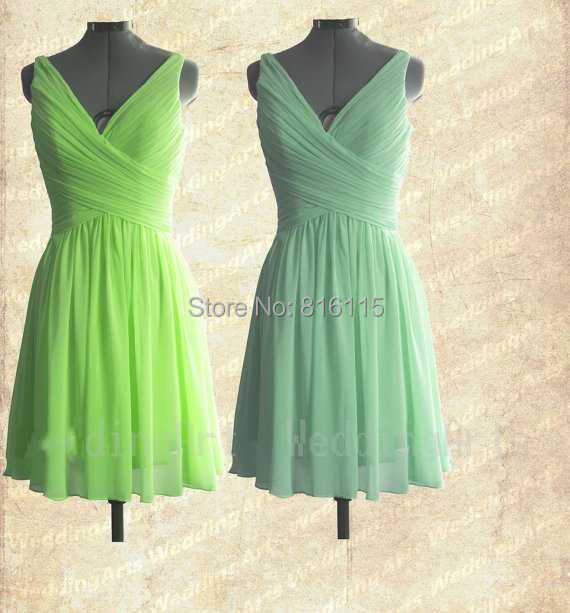 Popular Lime Green Bridesmaid Dresses Buy Cheap Lime Green