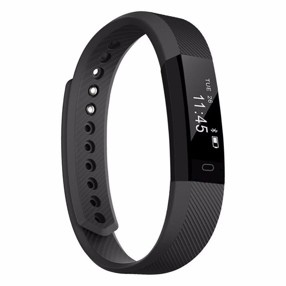 Traqueur de Fitness Bracelet intelligent meilleur Id appel Bluetooth rappeler à distance retardateur montre intelligente activité Tracker pression artérielle