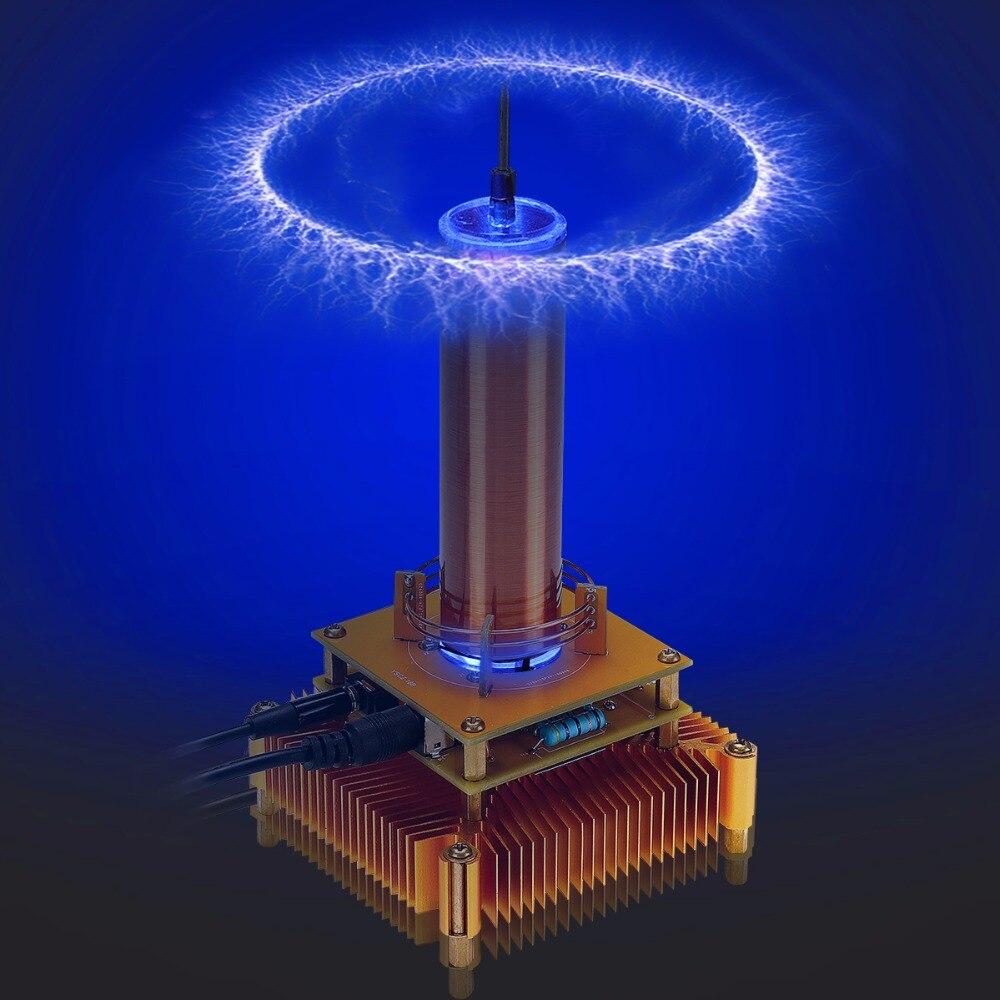 Son de Transmission sans fil de haut-parleur de Plasma de Module de bobine de Tesla de musique électronique
