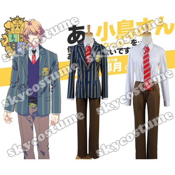 Uta no Prince-sama Class A Student Boy Uniform Cosplay Costume колыбель feretti для двойни culla gemellare merit