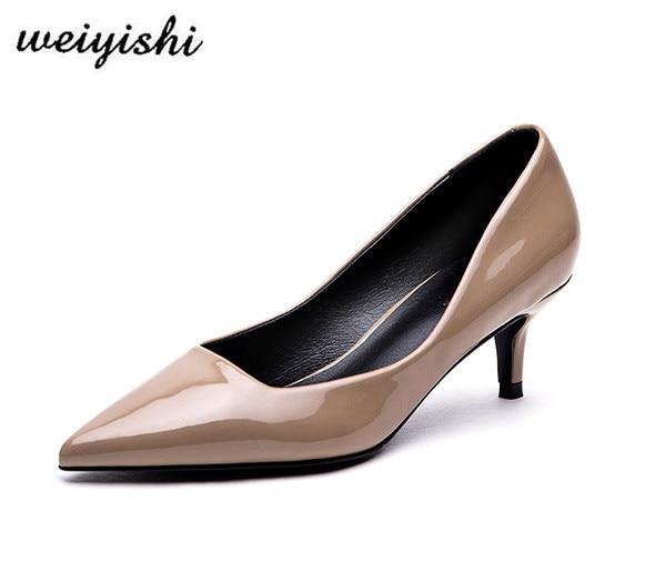 2018 women new fashion shoes lady shoes weiyishi brand 025