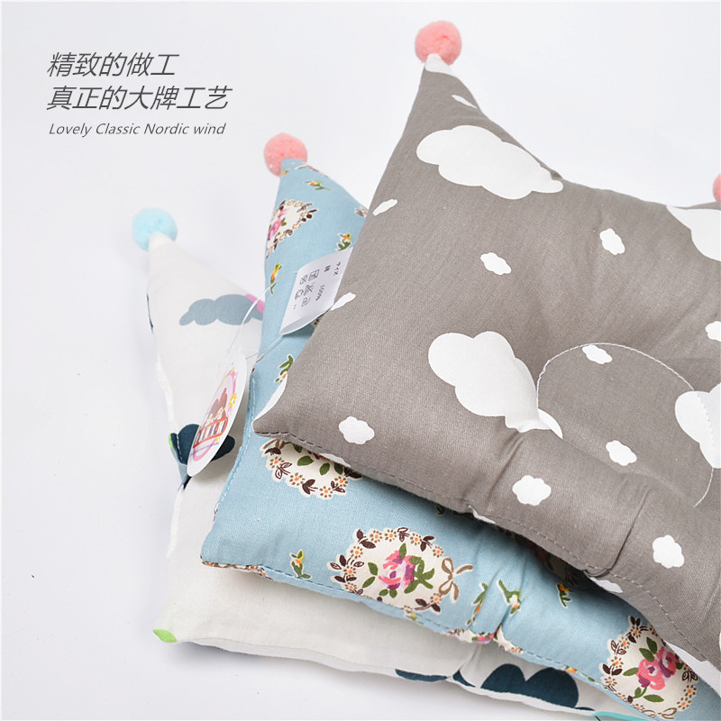 Shaping Pillow Baby Newborn Cute Backrest Cushion 0-1 Years Old Anti-head Correction Pillow Bedroom Bedding Room Decoration (3)