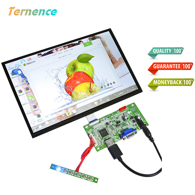 Skylarpu Raspberry Pi 3 15 pollice IPS Capacitivo LCD display LCD Screen + Touch panel kit FAI DA TE completo di visualizzazione 1920*1080 HD HDMI + VGA LCD
