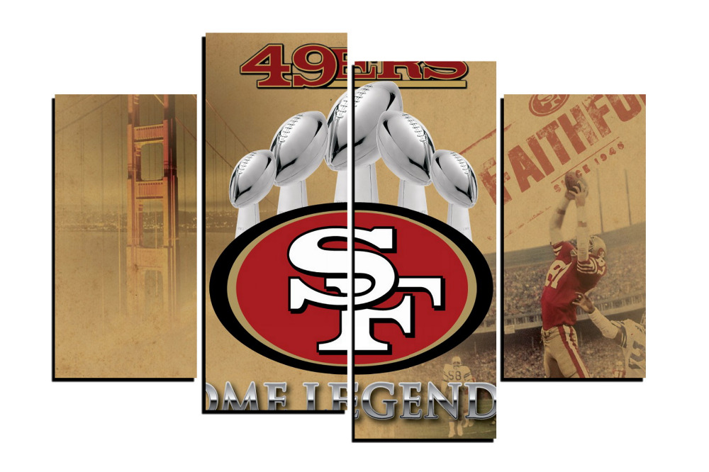 Por 49ers Decorations 49ers Decorations Lots From San Francisco
