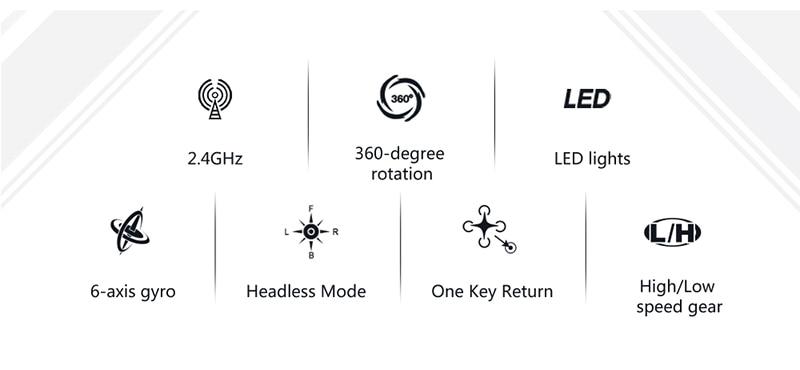 LIXIANG ヘリコプター高品質 キー Quadcopters 4