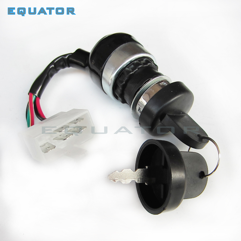 IGNITION SWITCH KEY SWITCH in UTV GO KART ATV 5 PIN WIRE Start On Off CHINESE 250cc 150cc 125cc 110cC SUNL Taotao NEW