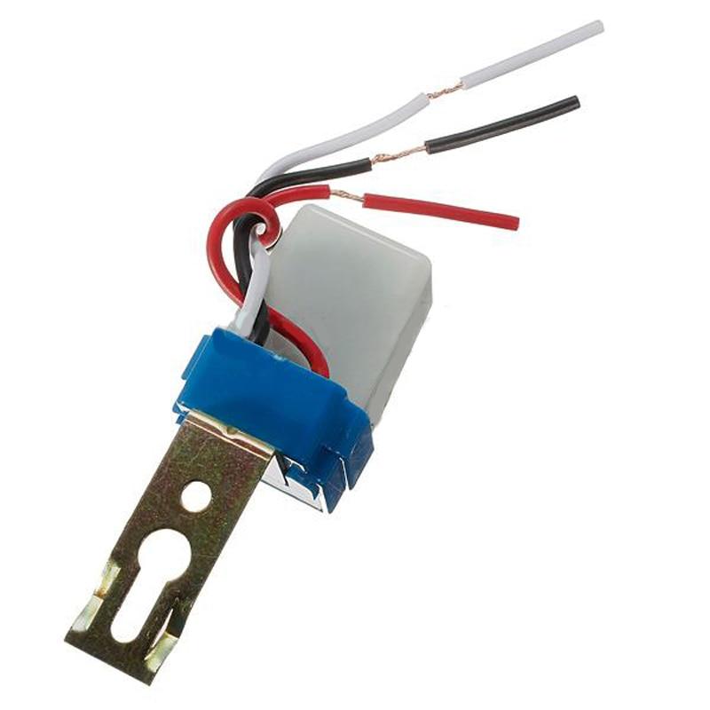 цена на DC AC 12V 10A Switch Automatic Auto On Off Photocell street Light Switch Photo Control Photoswitch Sensor Switch MAYITR