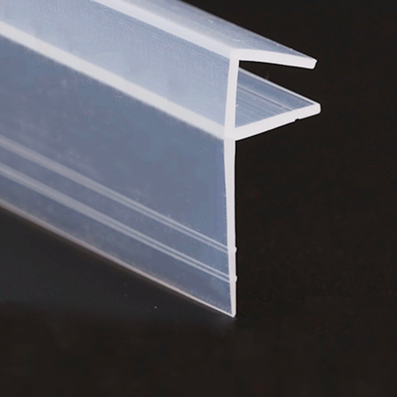 Weatherstrip Draft Stopper 6mm Glass Frameless Screen Sliding Sash Shower Door Window Balcony Seals Silicone Strip