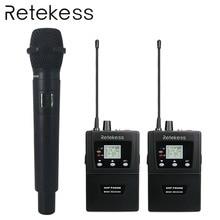 Retekess Wireless Conference System RF Simultaneous Interpretation Handheld Microphone Audio Transmitter For Business Meeting
