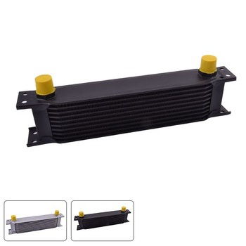 evil energy Universal Racing Oil Cooler Raditor 10 Row 10AN Aluminum Engine Transmission Motorcycle Oil Cooler evil energy universal 10 row 10an aluminum engine oil cooler transmission cooler racing oil cooler raditor