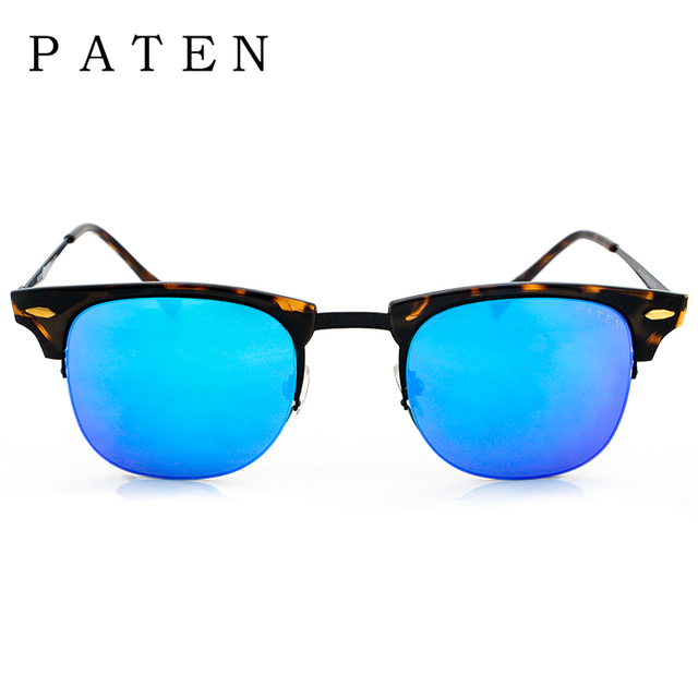 264b199b1a Promotional PATEN New Brand Solar Mirror Cat Eye Custom Italian Sunglasses  Cheap HD Vision Sun glasses