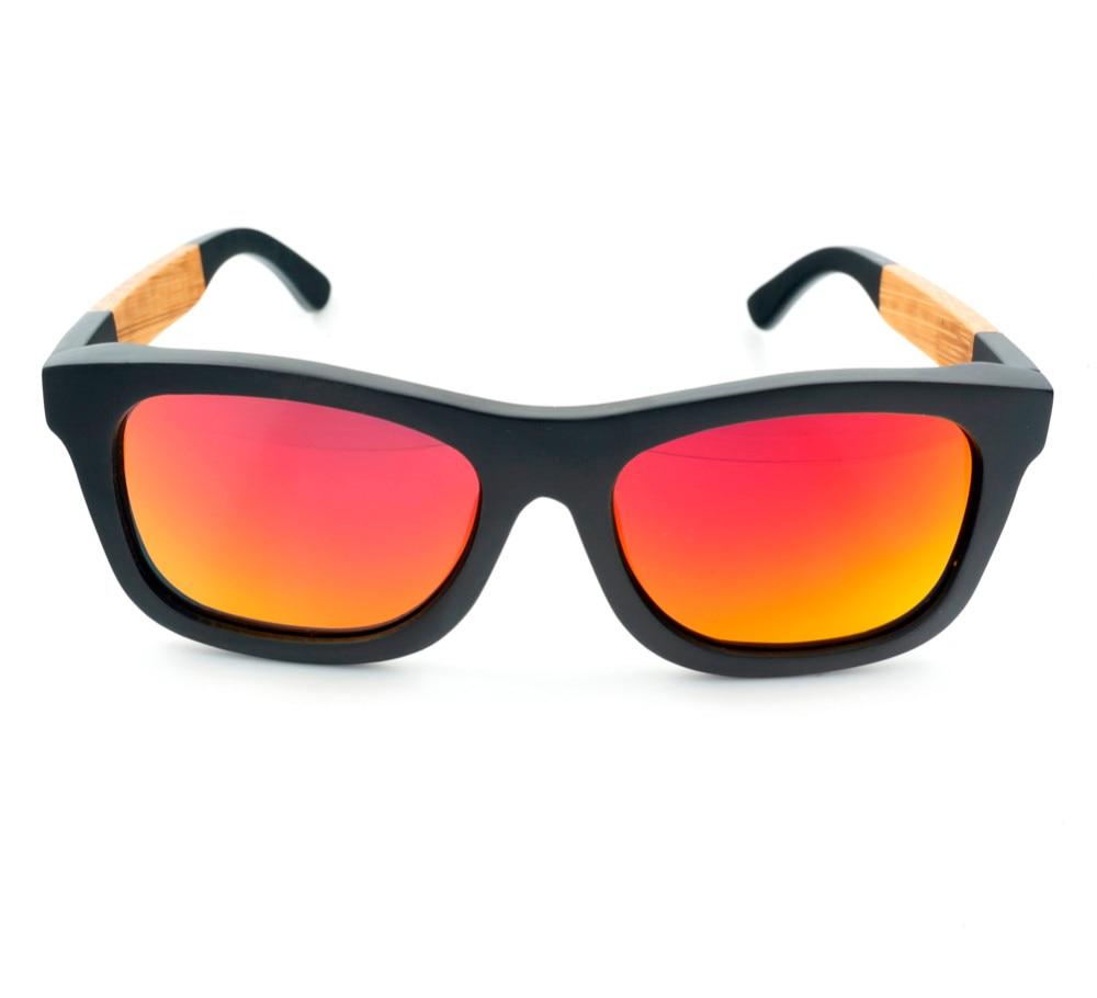Mens Top Brand Design Wood Sunglasses font b Handmade b font Bamboo Sunglasses gafas de sol