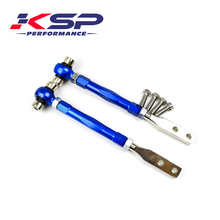 KSP Front Adjustable Suspension Tension Arm Camber Kit For 240SX 1995-1998 S14 / 300zx Z32 R32 R33 1990-1996