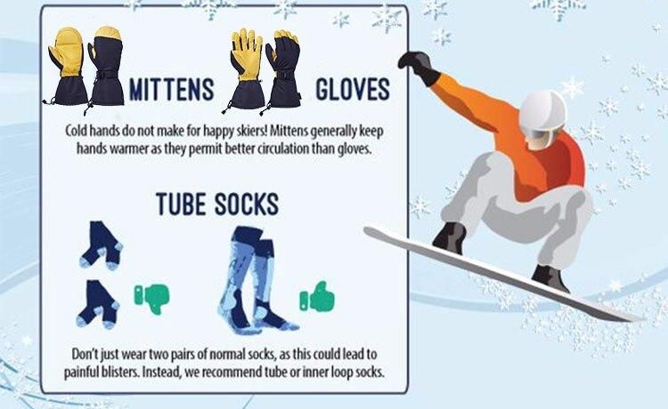 gloves snowboard