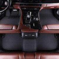 The New Car floor mats for Mercedes Benz A C W204 W205 E W211 W212 W213 S class CLA GLC ML GLE GL carpet floor liner
