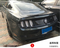 Mustang High Quality Carbon Fiber Rear Trunk Spoiler Wings For Ford Mustang 2 Door 2015 2017