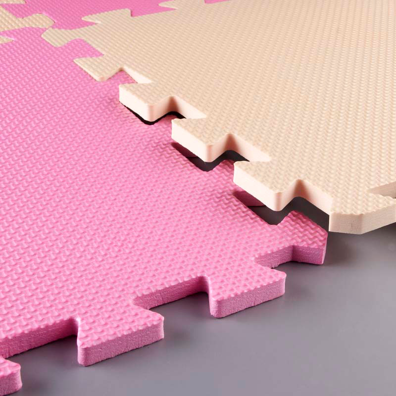 Meitoku bebé EVA Foam Juego Puzzle Mat / 9 unids / lote Ejercicio - Juguetes para niños - foto 6