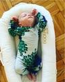 2017 primavera roupas de bebê menino menina roupa do bebê macacão de bebê crianças roupas da moda roupas 0-2.5 anos vetement bebe vetement meninos PAVÃO